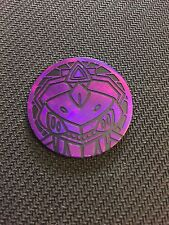 Pokemon Purple Genesect Collector COIN - NEW