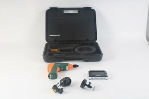 """Extech BR250 Video Borescope / Wireless Inspection Kit 3.5"""" Color TFT Monitor"""