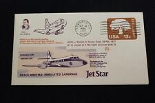 SPACE COVER 1977 MACHINE CANCEL JET STAR SPACE SHUTTLE LANDING TEST #519 (307)