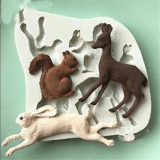 Health Animal Shape Baking Supplies Environmental Protection Durable Silica Gel