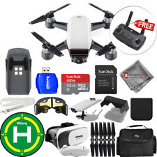 DJI Spark Quadcopter EXTREME ALL YOU NEED PROFESSIONAL BUNDLE - Brand New