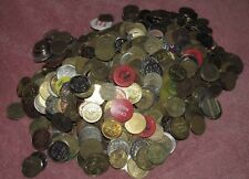 Lot of 7lb. & 14oz. Amusement, Car Wash, Arcade and Other Tokens - #3
