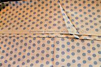 Spot Kaffe Fassett Soft Blue Dots on White Cotton Quilt Fabric GP-70