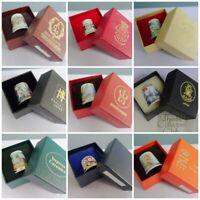 Thimble Collectors Club TCC Vintage Boxed Certificate Box Porcelain Bone China B