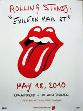 ROLLING STONES 2010 exile box set promotional poster Flawless NEW old stock