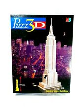 New - Puzz 3D Empire State Building 3D Model Jigsaw 107cm High MB Games