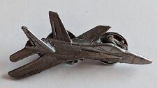 Vintage Fighter Jet Lapel Pin Airplane Plane Grumman F-14 Tomcat Pewter