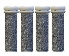 4 x Extreme Coarse Micro Mineral Replacement Rollers for Emjoi Micro Pedi