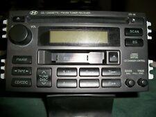 New listing 2002-2005 Hyundai Sonata Original Am Fm Radio Receiver Cd Cassette Player