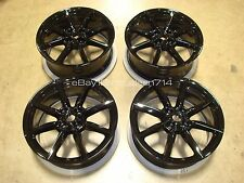"17"" 16-17 Mazda MX-5 Miata CLUB WHEELS OEM Rims MX5 Factory BLACK 64966"