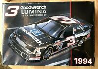 Dale Earnhardt Sr, #3 Goodwrench 1994 Chevy Lumina 1:24 Scale Plastic Model Kit