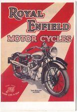 Royal Enfield 500 Bullet Modern colour postcard by Mayfair