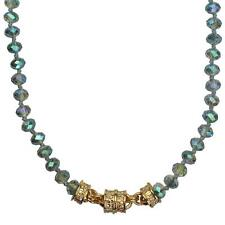 KIRKS FOLLY  MYSTIC DREAM  BEADED MAGNETIC NECKLACE goldtone NEW RELEASE