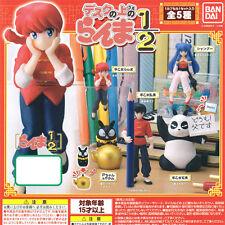 Bandai Ranma 1/2 landed Sitting Desktop Decorate Your Desk Figurine Set of 5