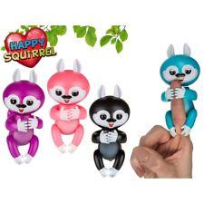 Happy Squirrel Eichhörnchen Sound Bewegung Fingerpuppe interaktives Spielzeug