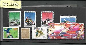BIS_LIKE:10 stamps Portugal Col. Macau MH LOT FEB 03-517