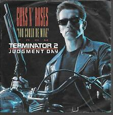 """45 TOURS / 7""""--BOF/OST--GUNS N' ROSES--YOU COULD BE MINE--TERMINATOR 2"""