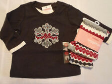 GYMBOREE 3-6 Month Penguin Chalet Fall Legging Long Sleeve Shirt Outfit NWT