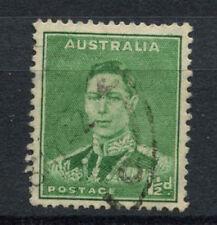 Australia 1937-49 SG # 183, 1.5 D VERDE SMERALDO USATO kgvi p15x14 #A 78217