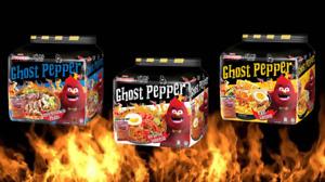 NEW MAMEE Monster x Daebak Ghost Pepper Instant Ramen Noodles (3 Flavours)