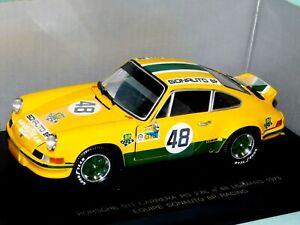 PORSCHE 911 CARRERA RS No 48 BP LE MANS 1973 UNIVERSAL HOBBIES 3209 1/18