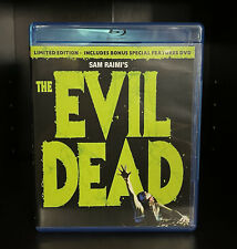 The Evil Dead (Blu-ray / Dvd Combo, 2010) 2-Disc Rare Oop Set - Bonus Features