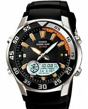 Casio AMW-710-1A Orologio,Fasi lunari,maree,cronometro