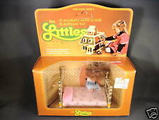1980 Mattel The Littles Flossie Littles and her bed