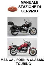 CD MANUALE OFFICINA STAZIONE SERVIZIO MOTO GUZZI MSS CALIFORNIA CLASSIC -TOURING