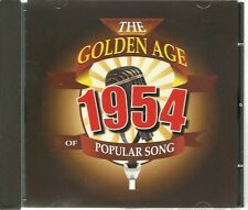 THE GOLDEN AGE OF POPULAR SONG 1954 CD - MR SANDMAN, THIS OLE HOUSE & MORE