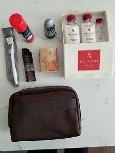 Emirates Airlines Business Class Men's BVLGARI Amenity Kit