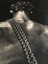 Herb Ritts / Fred, 1984 / Fahey-Klein Gallery Poster Los Angeles