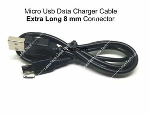 Fits Blackview BV6000S/BV4000/ Pro/DOOGEE S30 Micro USB Data Charger Cable 8mm