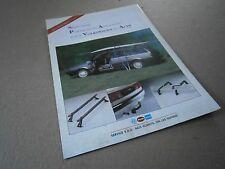 Catalogue auto  pub prospectus brochure:Volkswagen et Audi Accessoire portage