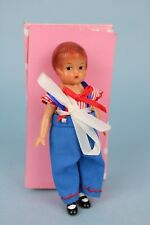 """5"""" Wee Patsy Effanbee doll Repro re-issue Patriotic costume boy Mib 1998-99"""
