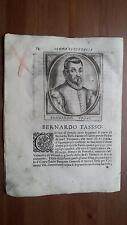 1664 Calvi Scrittori Bergamaschi: Bernardo Tasso (Venezia 1493–Ostiglia 1569)