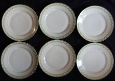 C'/ Lot x6 assiettes PORCELAINE DE LIMOGES (24 cm) Bon état (anciennes)