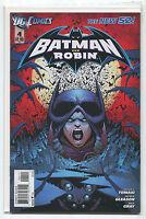 Batman And Robin #4  NM The New 52 Tomasi Gleason Gray   DC Comics **28