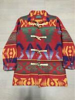 RALPH LAUREN COUNTRY Authentic Native Pattern Jacket Used