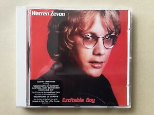 --- CD ---  WARREN ZEVON --- EXCITABLE BOY --- neuwertig! ---