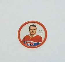 Shirriff  coins hockey 1962-63 # 24 Gilles Tremblay Montreal Canadians lot 5