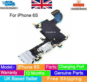 For IPhone 6S Charging Port Charger Flex Headphone Jack microphone Replacement