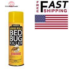 Harris Bed Bug Aerosol Spray 16 oz. Insect Repellant Pest Controls Carpets Floor