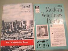 1960-77 Veterinary Medicine American Journal Veterinarian Journal Magazines 120+