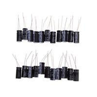 20Pcs 1000uF 16V Practical Radial Lead Aluminum Electrolytic Capacitors LE