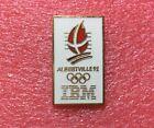 Pins J.O. ALBERTVILLE 92 Sponsor IBM Doré Jeux Olympique Olympic Games