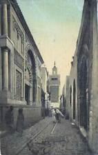 Postal Túnez. Une Rue. Edition C. Saliba Ainé