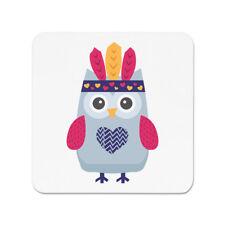 Festival Owl Head Vestido FRIDGE MAGNET-Pájaro Linda Divertida