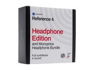 Sonarworks Reference 4 Plug-In, Software & Headphone Bundle