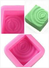 Kitchen Tools Arts Handmade Silicone Soap DIY Craft Soap Mould Decorative 6A